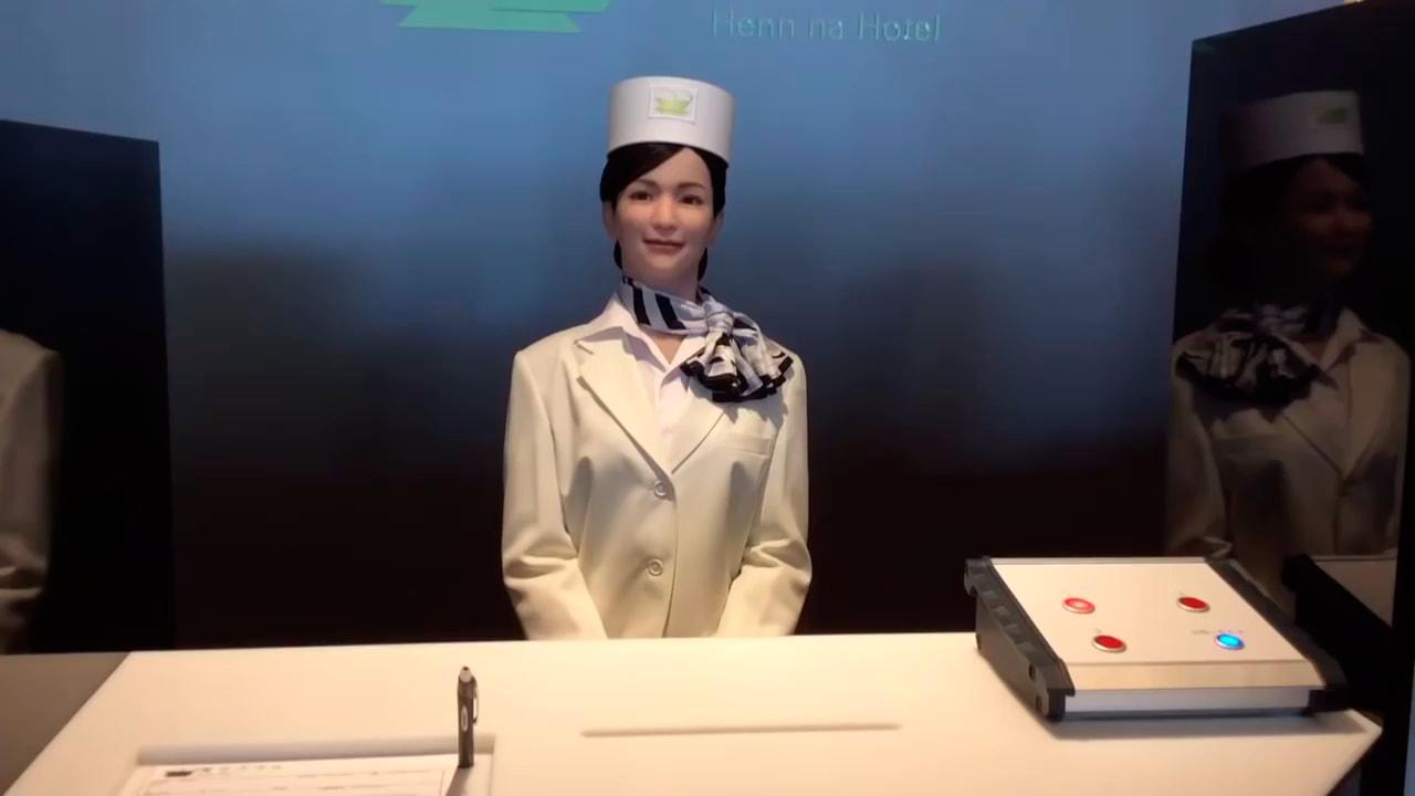 В Японском отеле гостей будет встречать робот-портье
