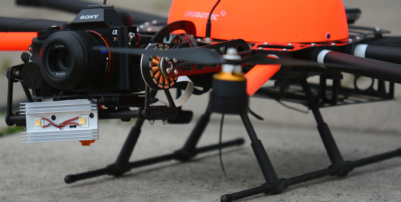 Японские фермеры стали использовать дроны