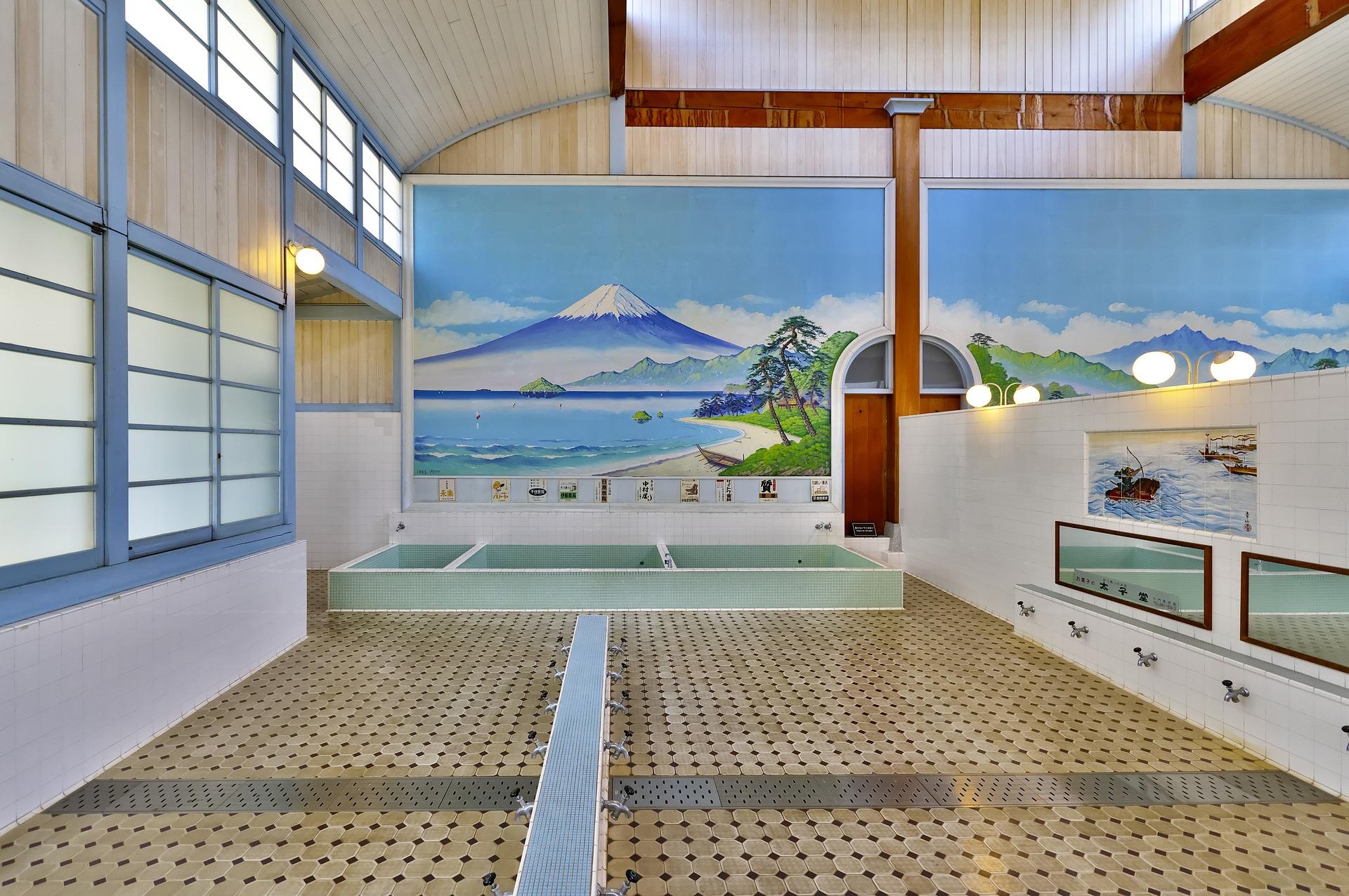 В Японии начали закрываться общественные бани сэнто