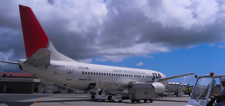 Первый самолет нового маршрута Россия-Япония вылетел из Японии в Курилы