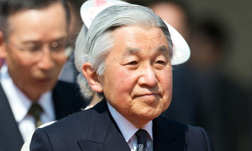 В силу вступил закон об отречении императора Японии
