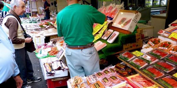 Проблема скидок на еду в Японских супермаркетах