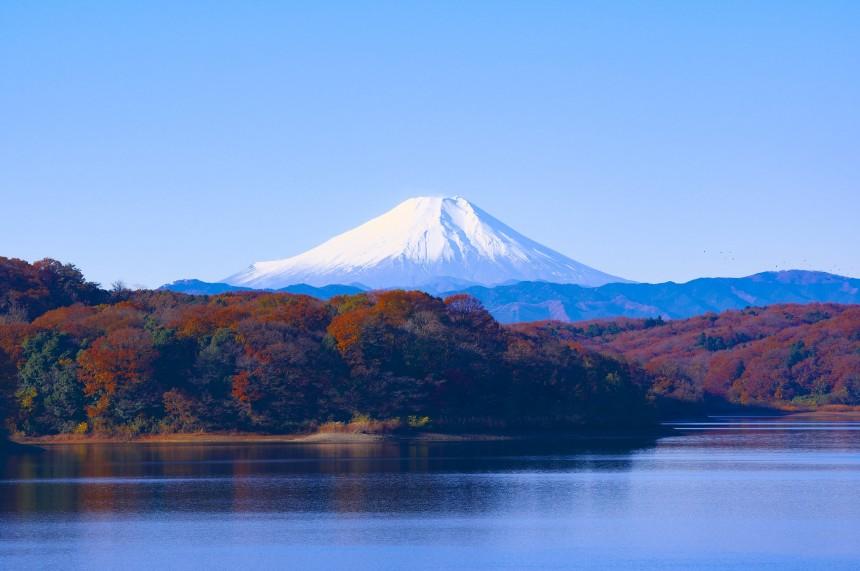 Японцев напугал дым над Фудзи
